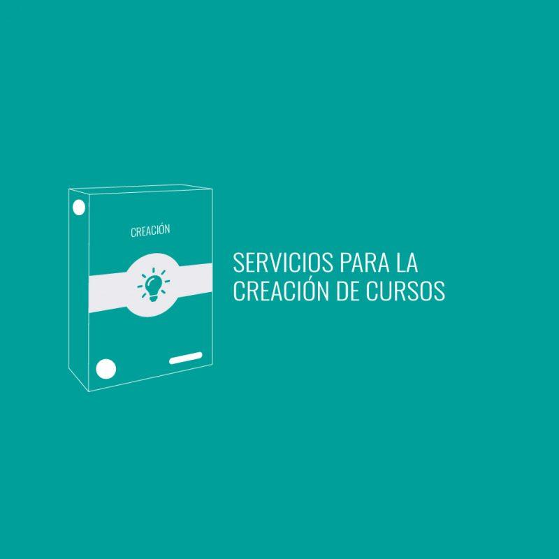 servicios para la creación de cursos